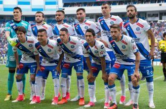 Once inicial que usó Puebla en el juego contra Cruz Azul en el C2017