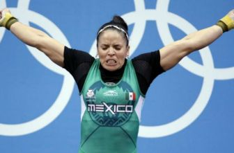 Luz Mercedes Acosta, en los Juegos Olímpicos de 2012
