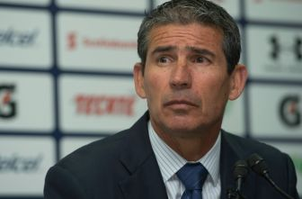 Yayo, durante una conferencia de prensa en La Noria