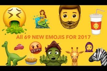 Embedded thumbnail for Checa los nuevos emojis que han salido durante 2017