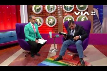 Embedded thumbnail for Pastor pisotea bandera LGBT durante programa