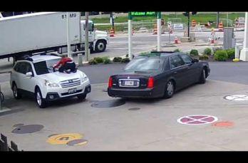 Embedded thumbnail for Mujer se aferra al cofre de su camioneta y evita que se lo roben