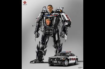 Gunduz Aghayev decidió ilustrar a los líderes mundiales como Transformers