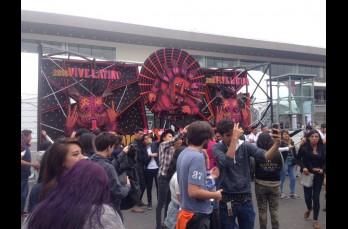 Así lució alrededor de los escenarios en la decimoséptima edición del Vive Latino