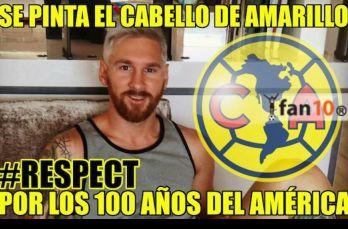 Hay gente que piensa que Messi cambió de look para celebrar el Centenario del América