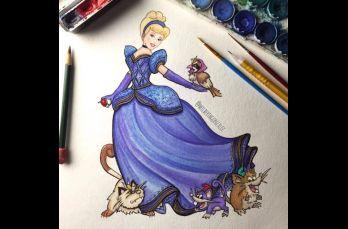 Wilberth Gonzalez es el artista que cambió a los compañeros de las princesas por pokémones