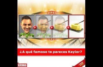 ¿A qué famoso te pareces Keylor?