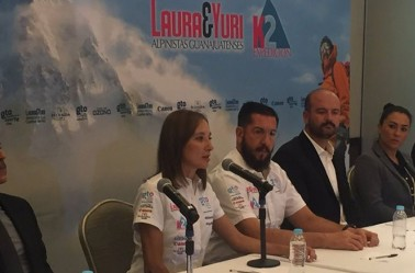 Laura y Yuri, en conferencia de prensa