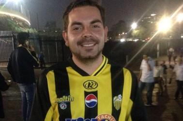 Jorge Canas, fan del Táchira, listo para ver a su equipo en C.U.