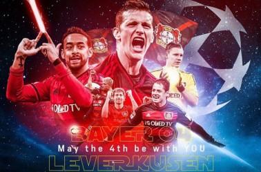 Bayer Leverkusen muestra a sus estrellas al estilo Star Wars