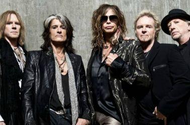 Todos los integrantes de la banda Aerosmith