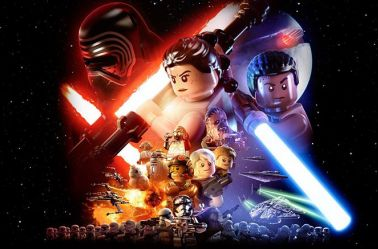 Imagen promocional del videojuego Lego Star Wars: The Force Awakens