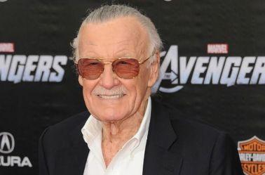 Stan Lee en la premier de Avengers