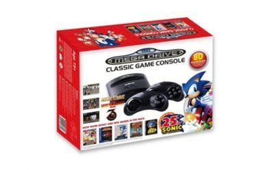 Así luce la versión retro de Mega Drive