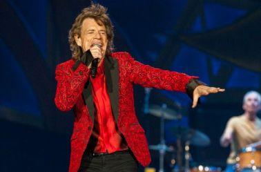 Mick Jagger durante un concierto de los Rolling Stones