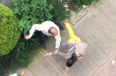 #LordPeatones derriba a una mujer en las calles de la CDMX