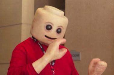 Creepyfig, el lego humano en la Comic-Con