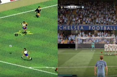 La diferencia entre FIFA 94 y FIFA 17