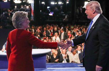 El candidato republicano inició con ataques contra México; Hillary atacó con dureza al también empresario