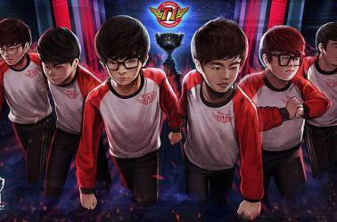 Arte oficial del equipo SK Telecom T1