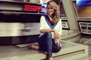 Vanessa Huppenkothen, en ESPN