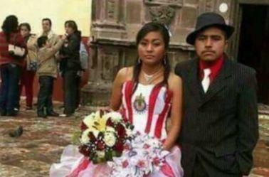 Novios que rindieron 'homenaje' a Chivas en su boda