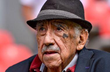 Don Melquiades Sánchez captado en el estadio Azteca