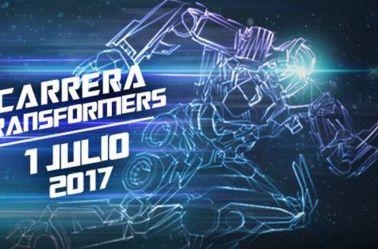 Primera carrera nocturna de Transformers en la CDMX