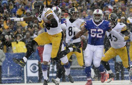 Bell fue un verdugo para los Bills en triunfo de Steelers