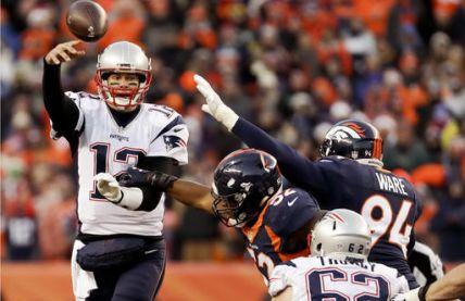 Patriots conquista título de división al derrotar a Denver
