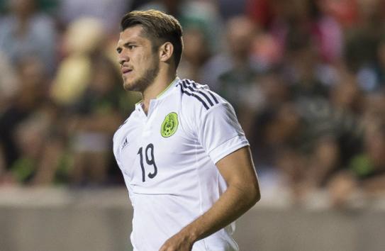Henry Martín, en juego de la Selección Mexicana