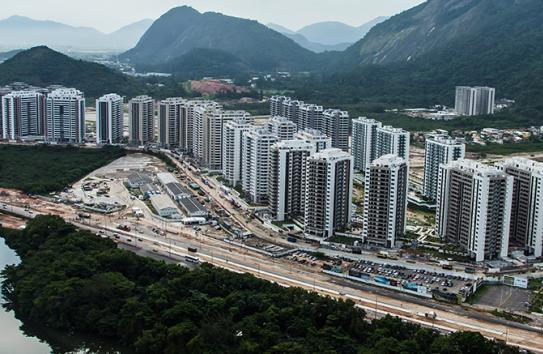 Así luce la Villa Olímpica