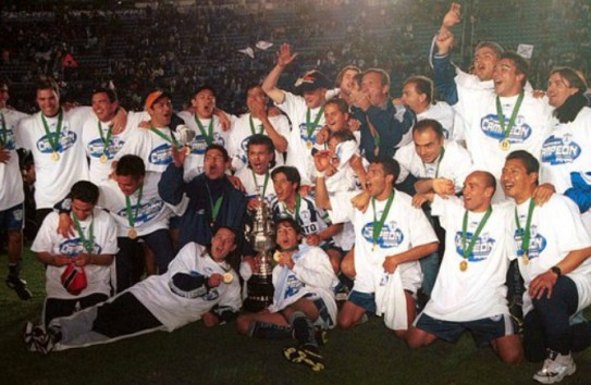 Pachuca campeón del Invierno de 1999