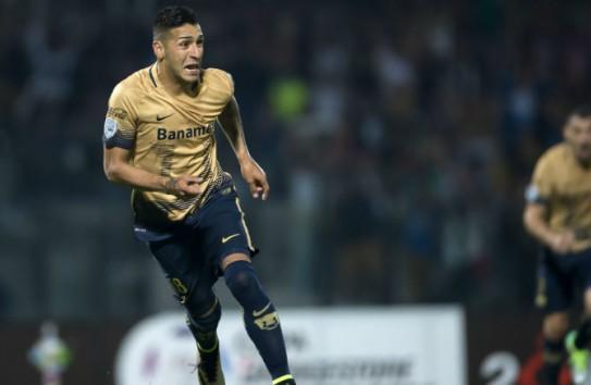 Ismael Sosa festeja gol contra Táchira