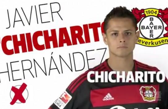Javier Hernández, nominado entres los mejores delanteros