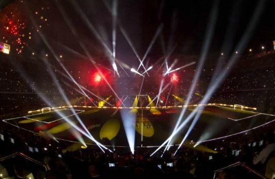 Panorámica del Estadio Camp Nou