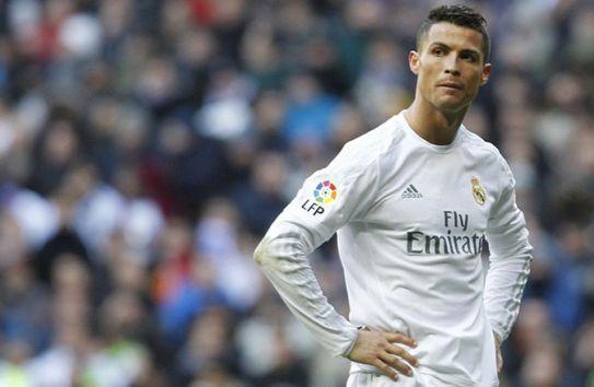 Cristiano Ronaldo luce molesto en juego de Real Madrid