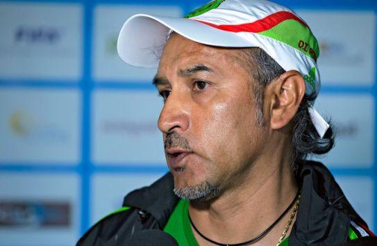 Raúl Gutiérrez, en conferencia de prensa del Tri Sub 23