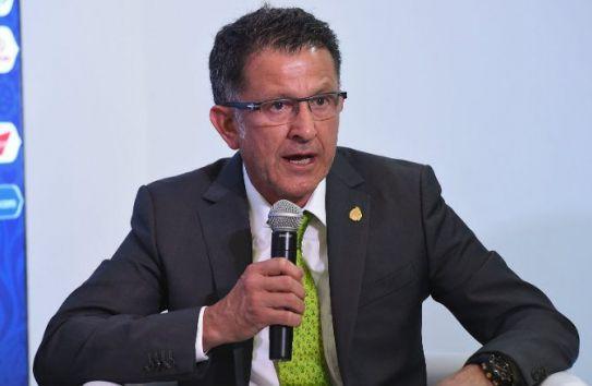 Osorio durante el congreso FIFA en México