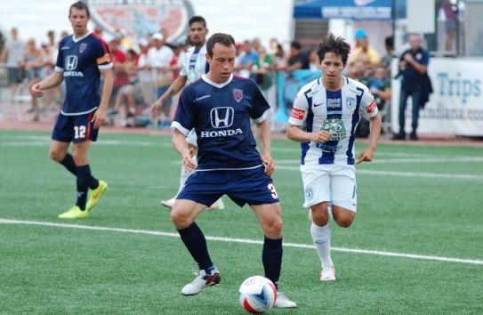 Gerardo Torrado, en su debut con Indy Eleven