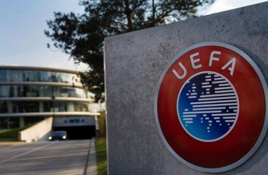 Vista exterior de la sede de la UEFA