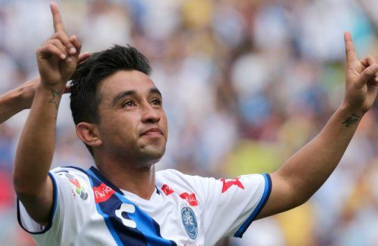 Christian Bermúdez celebra su gol frente al América