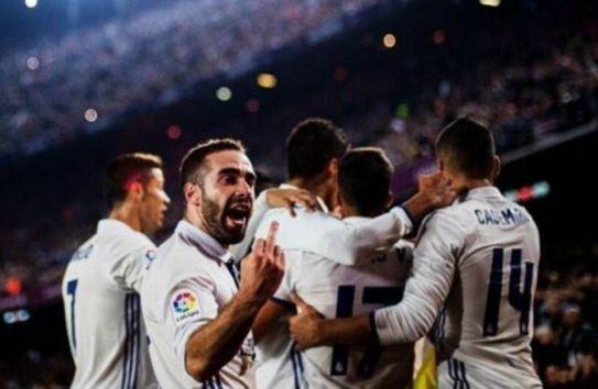 Carvajal ofende a la afición blaugrana tras el tanto de Ramos