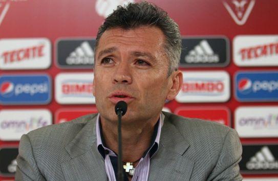José Luis Higuera, en conferencia de prensa