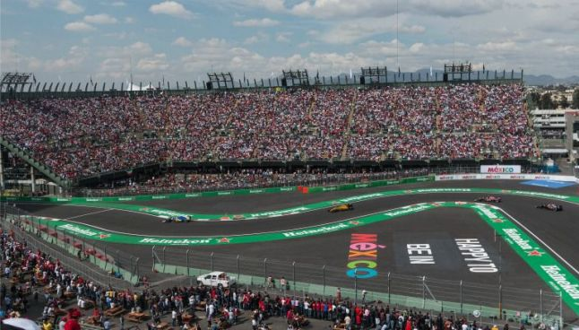 Vista general del  Gran Premio de México 2016