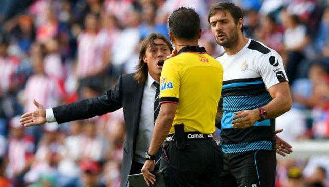 Almeyda reclama a Escobedo tras el final del encuentro