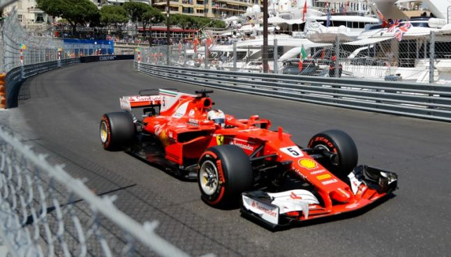 Monoplaza de Ferrari en la temporada 2017