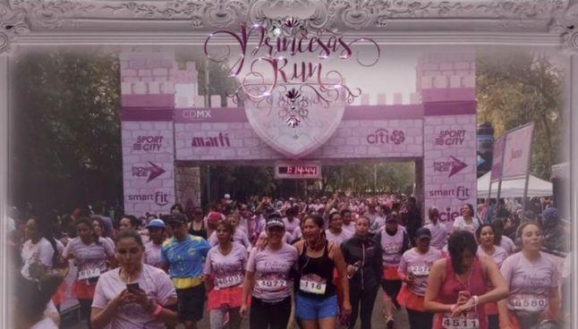Participantes de la Carrera Princesas Run 10k 2017