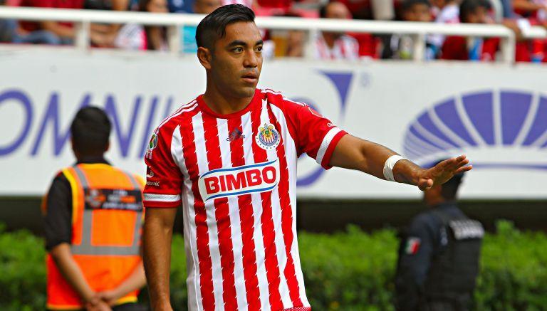 Marco Fabián pide tranquilidad en un partido de las Chivas