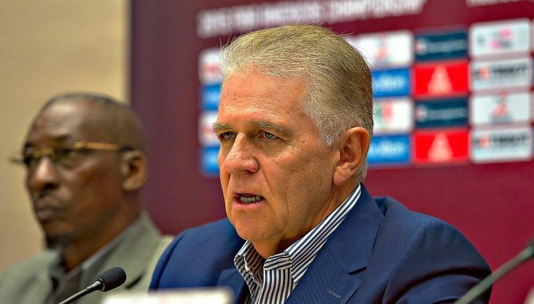Carlos Padilla durante conferencia de prensa